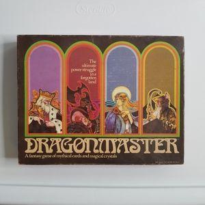 Dragonmaster Board Game 1981 Milton Bradley Fantas
